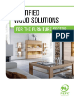 Certified Wood Solutions for the Furniture Sector