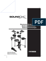 Drums Electronic SMI-1458 Instruction Manual ESF