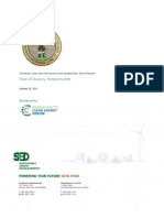 SED Duxbury wind feasibility report