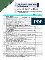 Checklist Obras Publicas