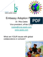 Embassy Adoption Program and ePals Overview October 2011