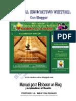 Manual Elaborar Blog Aplicacion Educacion