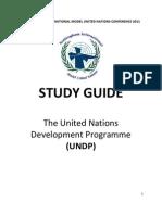 UNDP Study Guide