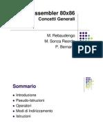 02_concetti_generali - ASM 80x86 Concetti Generali 25-10-10
