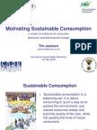Motivating Sustainable Consumption
