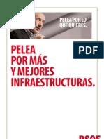 Pelea Por Más y Mejores Infraestructuras