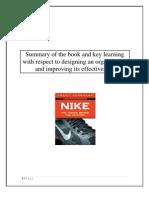 NIKE Book Review by Vinod Gandhi International Management Institute, IMI Delhi