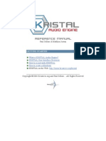 Kristal Audio Engine Reference Manual
