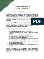 TYL-Ideario y Principios