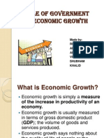 Role of Government in Economic Growth