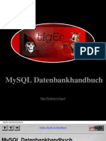 MySQL Datenbankhandbuch