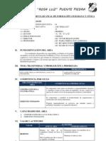 PROGRAMACIÓN CURRICULAR ANUAL DE FORMACIÓN CIUDADANA Y CÍVICA