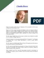 Biografía de Claudio Bravo