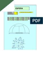 Fórmula do Tampo Esférico e Elíptico