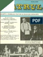 Revista Teatrul, nr. 5, anul XXIII, mai 1978