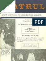 Revista Teatrul, nr. 7, anul XXIII, iulie 1978