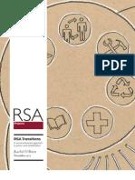 RSA Transitions pamphlet