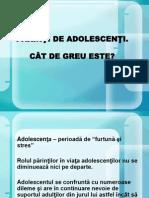 PĂRINŢI DE ADOLESCENŢI