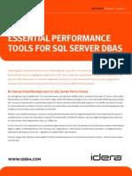 Essential Performance Tools SQL Server DBA