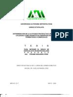 DETERMINACIÓN DE LA ACTIVIDAD PROTEOLÍTICA DE BACTERIAS UTILIZADAS COMO PROBIÓTICOS PRESENTES EN LECHES FERMENTADAS COMERCIALES