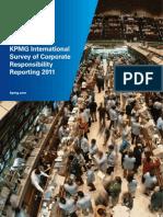 KPMG International Survey of Corporate Responsibility Reporting 2011