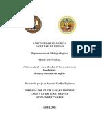 A Phonology Overview by Juan Antonioi Cutillas Espinoza