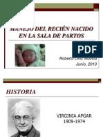 Reanimación neonatal 2010