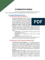 Droit Administratif General Semestre 3