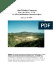 Atlas Mining Overview