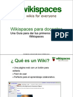 Wiki Spaces Para Docentes
