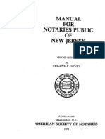 New Jersey Notarial Protest Procedure