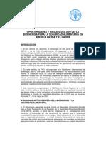 CEPAL-FAO des y Desafios Del Uso de La Bioenergia Para La Seguridad Aliment Aria en Amérca Latina - Mayo2007