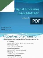 Dsp Using Matlab® - 5
