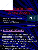 03020031 33. Organizacion Interna de La Diocesis