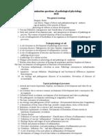 Examination Questions 2010
