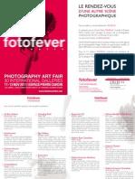 Fotofever 2011 - Dossier de Presse