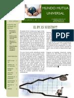 Mundo Mutua Universal. nº 3.