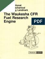 Waukesha CFR Engine