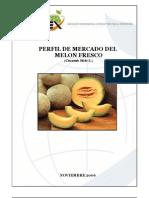 perfil del melon en Perú