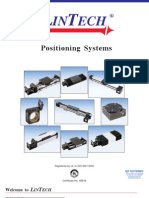 Lintech Positioning Systems 2011 Catalog
