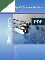 MicroE Systems 2011 Catalog