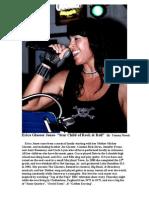 Erica Glaeser Jones- Starchild of Rock & Roll