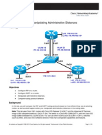 CCNPv6 ROUTE Lab4-3 Administrative Distance Student