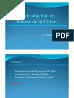 Présentation (finale) de l'introduction en bourse  (LIN Huazhen)