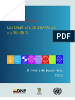 DNP ODM Colombia Informe de Seguimiento 2008