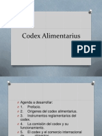 Codex Alimentarius Listo