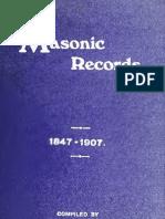 Masonic Records - Blair
