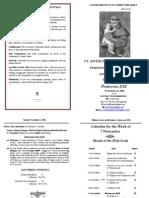 Bulletin 2011-11-06