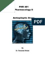 Anti Epileptic Drugs
