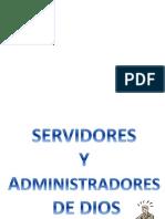 Administradores de Cristo preparado por Evelyn Vera de Chile